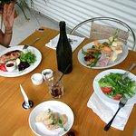 """Exemple de plats """"BIO"""" absolument délicieux."""