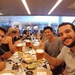 Almoço com os amigos