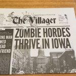 Zombie burger menu