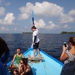 Traditional Maldivian boat bow