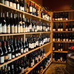 A large selection of wine from Spain, Portugal, and Latin America as well as many local selectio