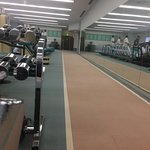 Gym in Fitness Centre or Health Club. Costs 2,200 yen for single visit for hotel guests.