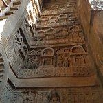 carvings at main cave entrance