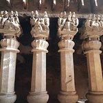 pillars in main cave