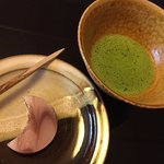 Matcha to end the meal