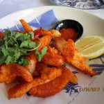 Chilli salt squid