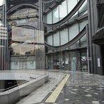 Le musée depuis la galerie vers la sortie