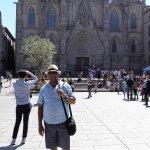 Outside The Catedral De Barcelona