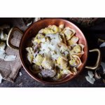 Tortelloni aux cèpes et Pecorino