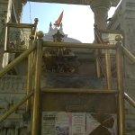 garud @ the entrance of Jagdish Temple