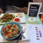 Falafel & Pastalicious!! Yummilicious :P