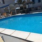 Pool Lounge in der Nebensaison. Ende April 2017