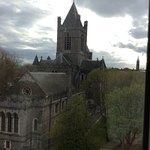View from Harding Hotel of Christchurch Cathedral
