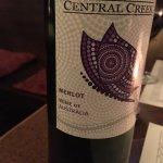 Out of Czech wine, this Australian Merlot wasn't bad