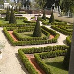 University of Olomouc garden on the city walls