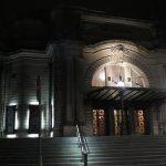 Usher Hall exterior at night