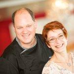 Gastgeberpaar Martin Brigger & Mélanie Williner