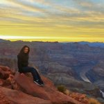 Sunset of Grand Canyon
