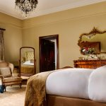 Junior Suite with views overlooking the 18th Century Abbey and Walled Garden