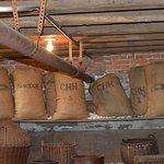 Grain Storage in Kitchen Area