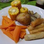 Vegan Dinner Plate