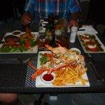 Grilled Lobster, filet Mignon etc.