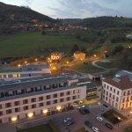 Fotos pertenecientes al hotel de las Caldas, tanto el Enclave como el Gran Hotel
