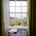 View of Loch Melfort from the bedroom of the Yellow room