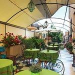 terrazza solarium e colazioni