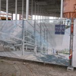 An der Gruga - Baustelle.