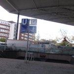 An der Gruga - Baustelle, geht es zur U-Bahn.