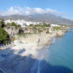 Papagayo Beach Nerja © Robert Bovington