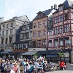 Vieux-Marche, Rouen, a tourist camp