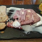 ham and cheshire cheese terrine