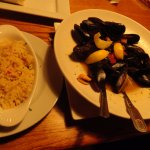 My wife's order os mussles. She also got 2 servings of the Cosmopolitan