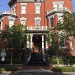 Beautiful architecture in the historic district