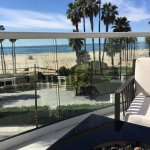 Lounge with Fire Pit Overlooking Santa Monica Beach