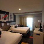 nice room. 2 queen beds