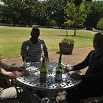 With Shawn at Boschendal Winery