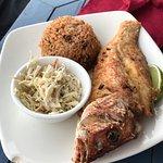 Fried Grouper or Fried Snapper