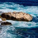 Sea along Valletta