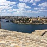Harbour view in Valletta