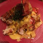 Mesquite smoked Maine Lobster