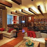 Step into elegance in our Lobby Bar Lounge