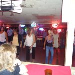 The dance class at the Broken Spoke