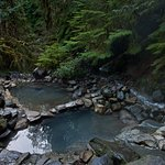 Picture of Cougar Hot Springs - only about 30 minutes from the Lodge!