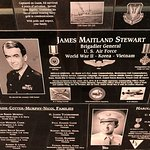 "Neat tributes to those who have served. I found James Stewart from ""It's a Wonderful Life"""