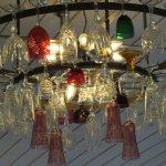 Glass lighting arrangement