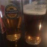 If ya don't mind flat pints head to Morrisons bar for a few