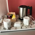 Wasserkocher auf dem Zimmer